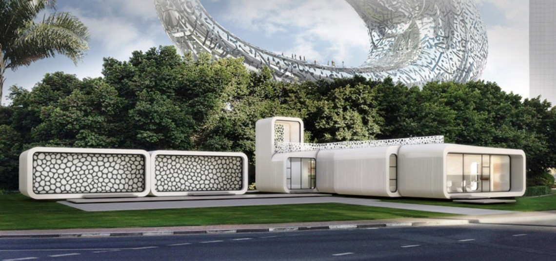 World's first 3D printed office set to come up in Dubai