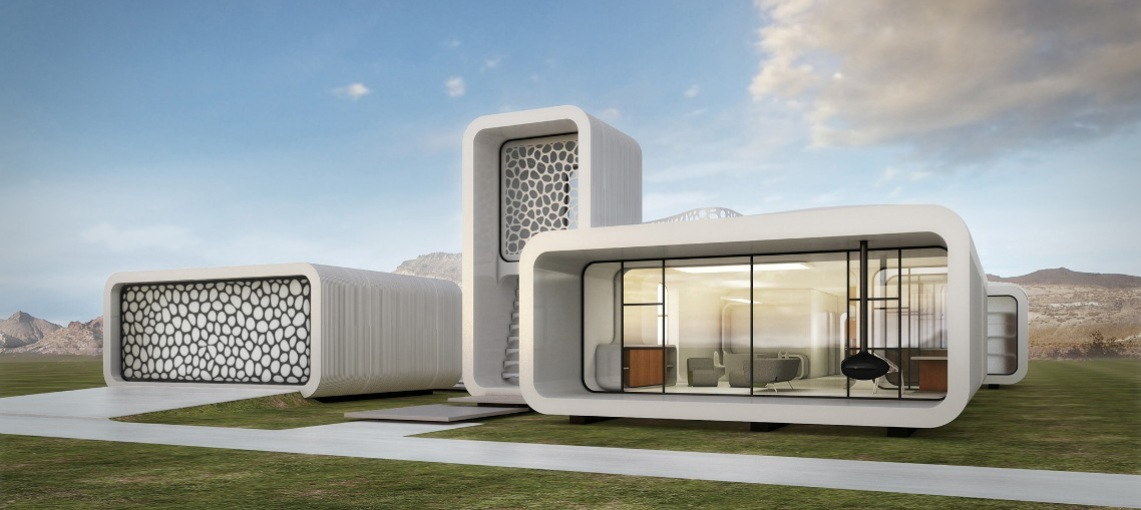 The World S First 3d Printed Office Building Is In Dubai