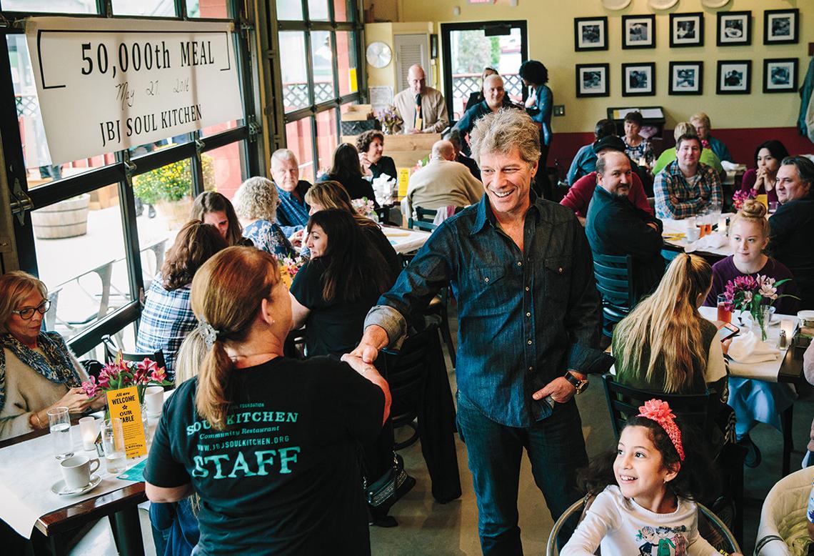 Bon Jovi Soul Kitchen Menu