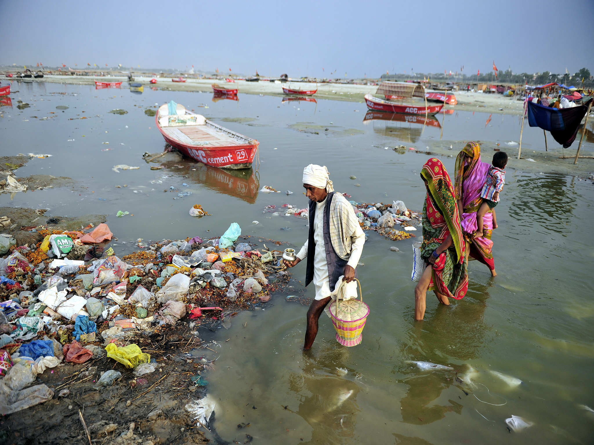 India, holy rivers Ganga and Yamuna granted same legal ...