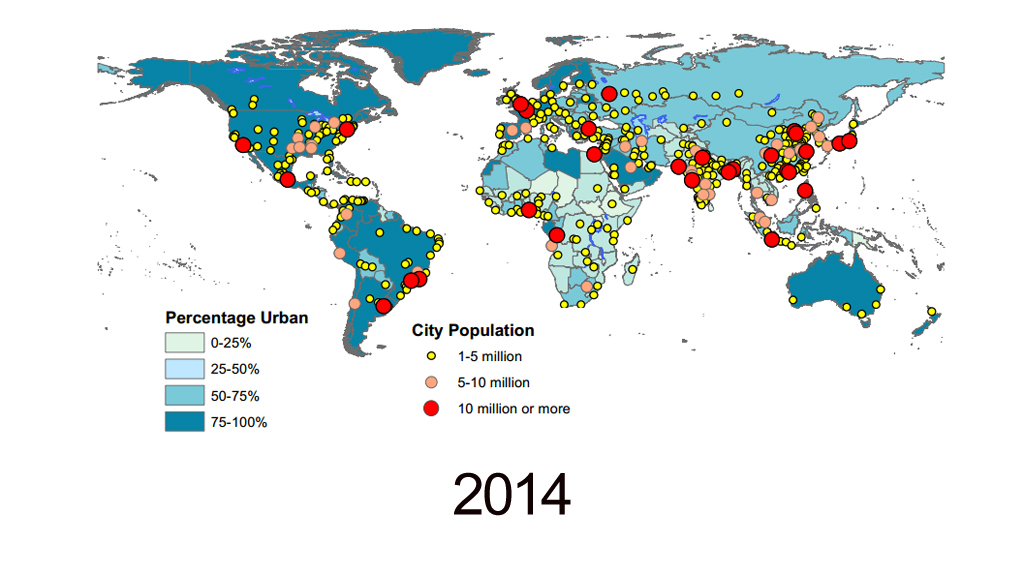 How many people will live in cities in 2045 LifeGate