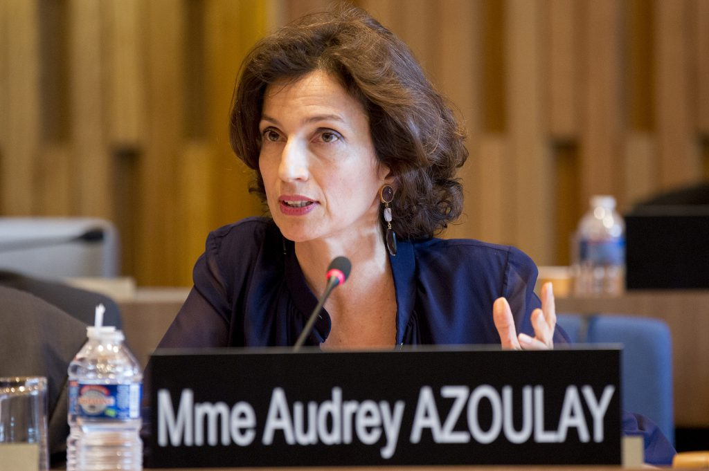 audrezy azoulay Unesco Director General