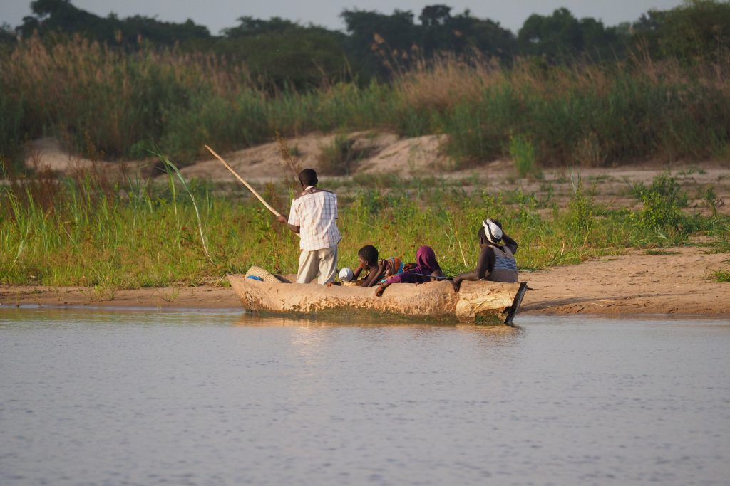 selous game reserve Rufiji River fishing