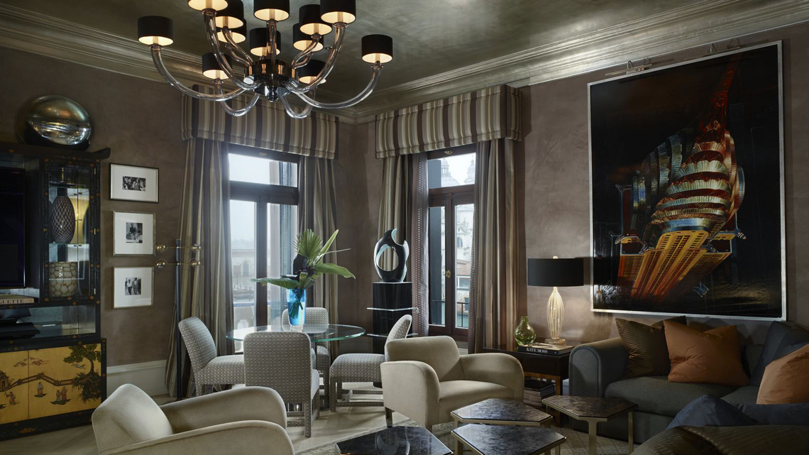 Suite Donghia Gritti Palace venice