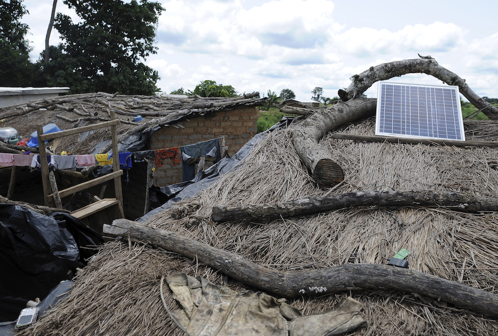solar energy in africa villages