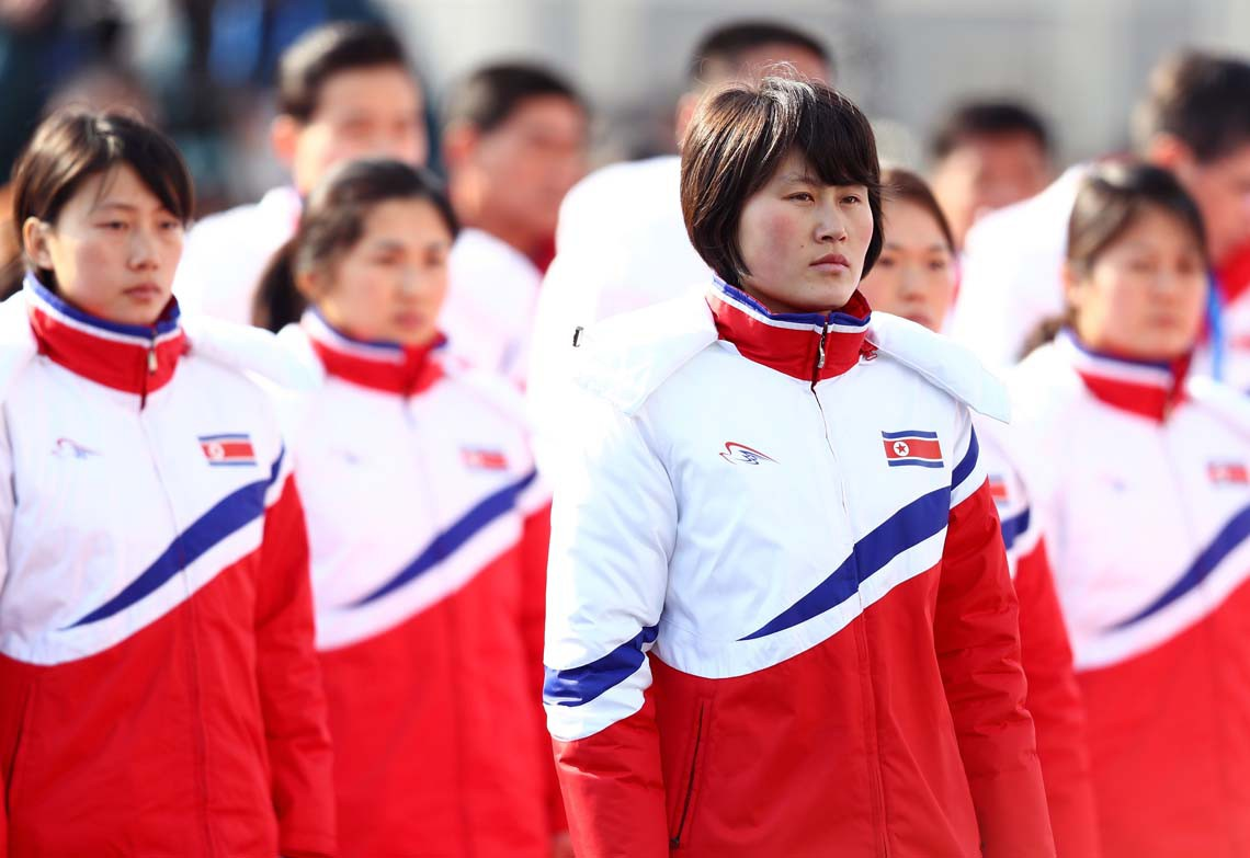 north korea athletes
