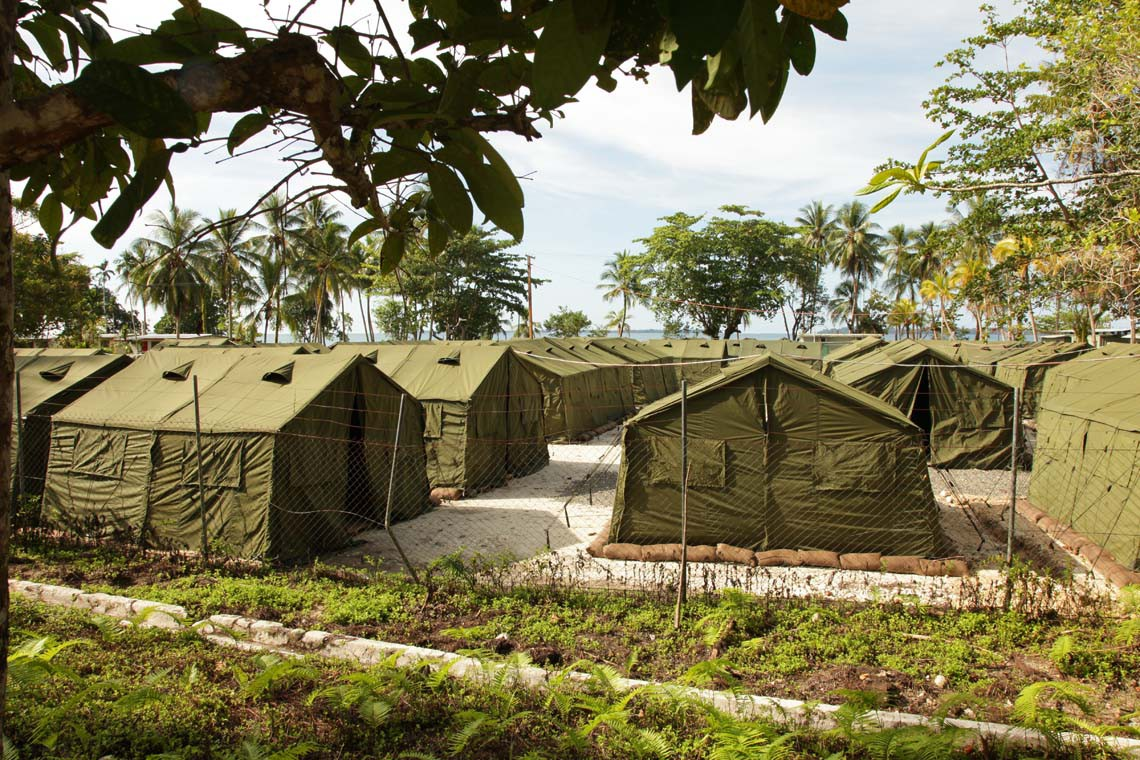 Manus Island refugee detention centre australia