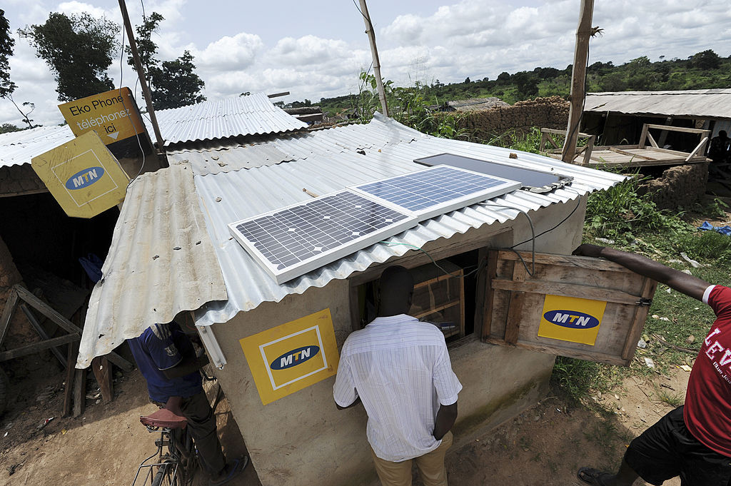 solar energy in africa call center