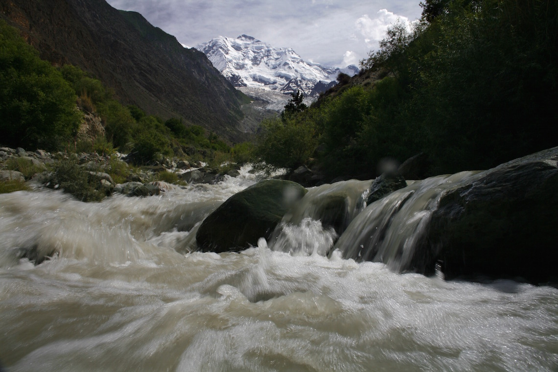 The Himalayan glaciers provide less and less water to Indian rivers © Paula Bronstein /Getty Images