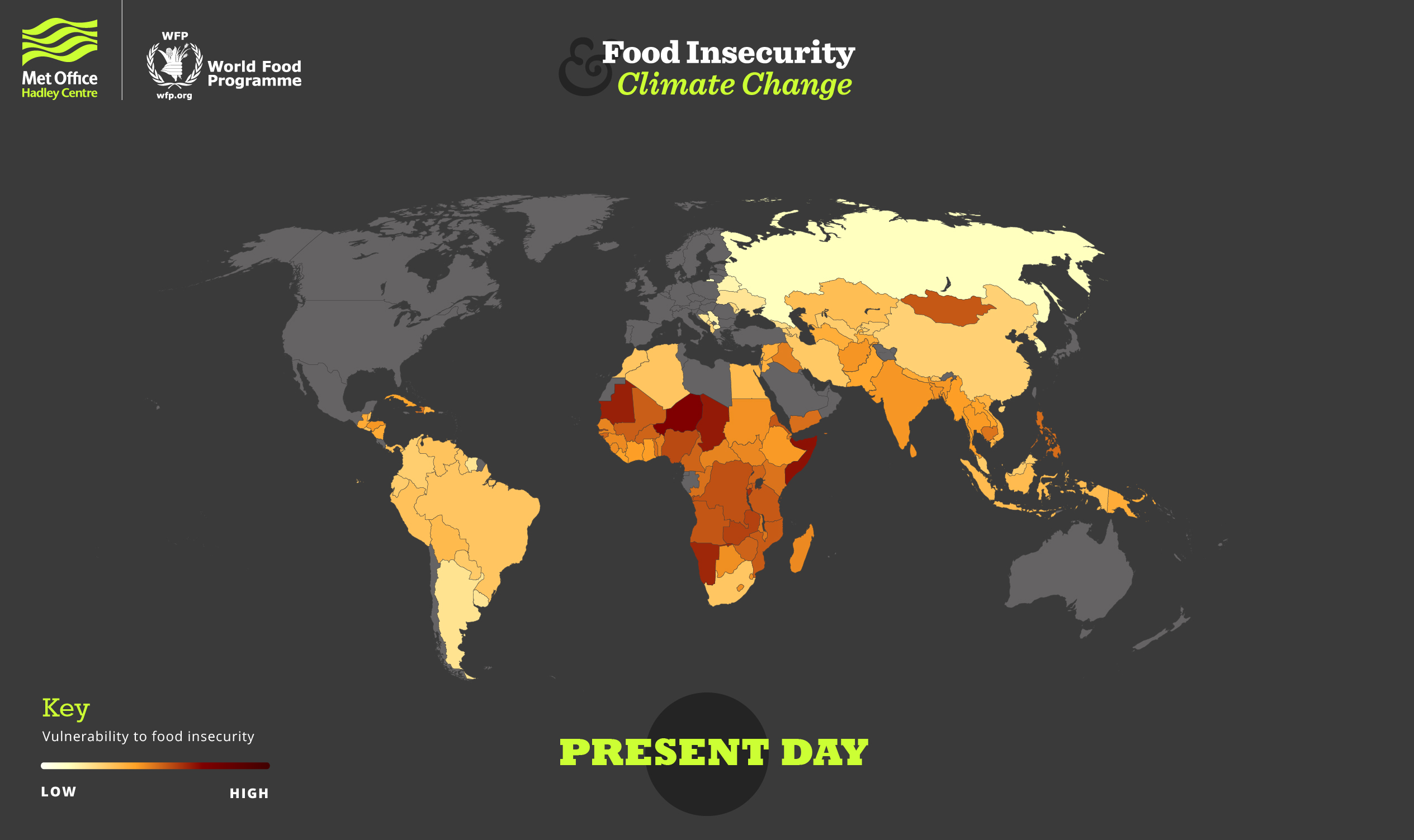 Current situation of world food insecurity