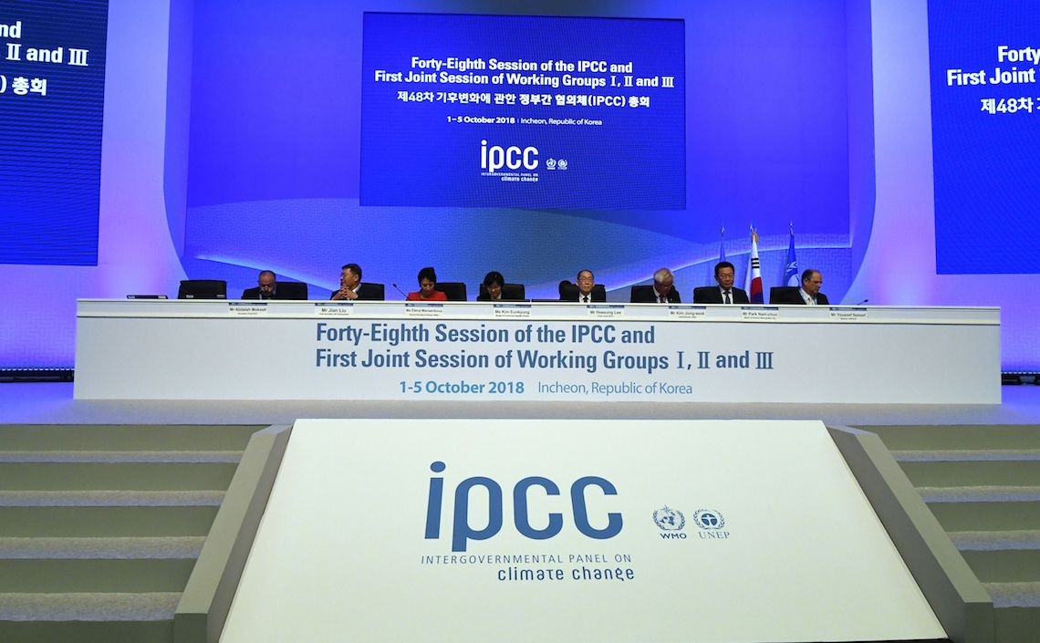 The Intergovernmental Panel on Climate Change (IPCC) released its latest report on climate, the Special Report 15 (Sr15)
