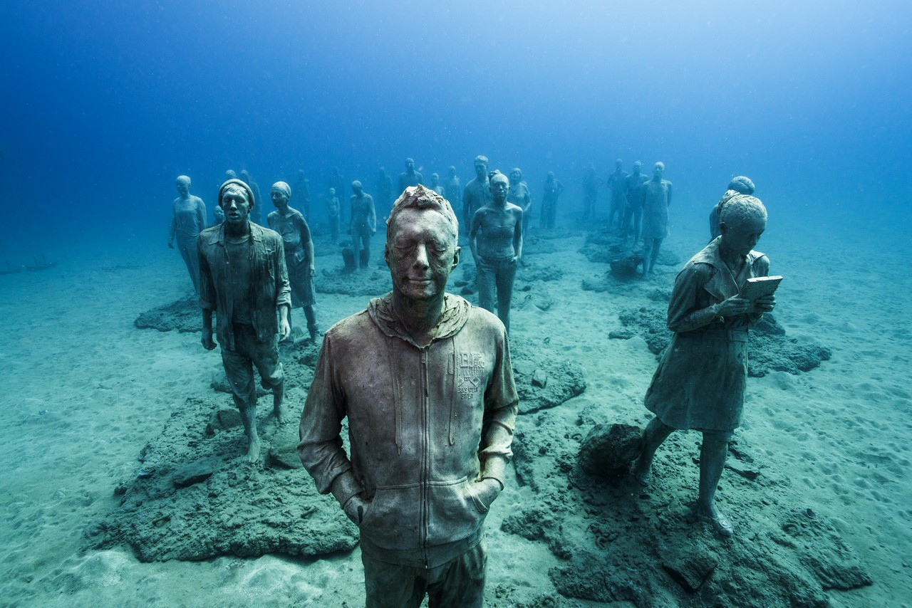 Museo Atlantico Lanzarote.Europe S First Underwater Museum Is Dedicated To Migrants Crossing