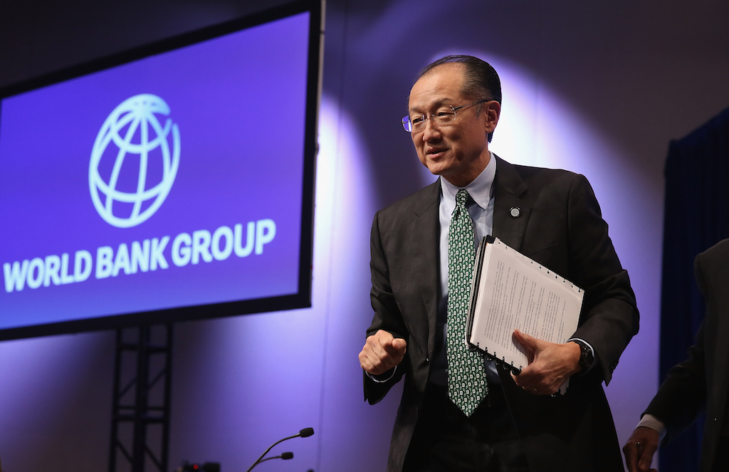 Christine Lagarde And Jim Yong Kim Address IMF-World Bank Group Annual Meetings
