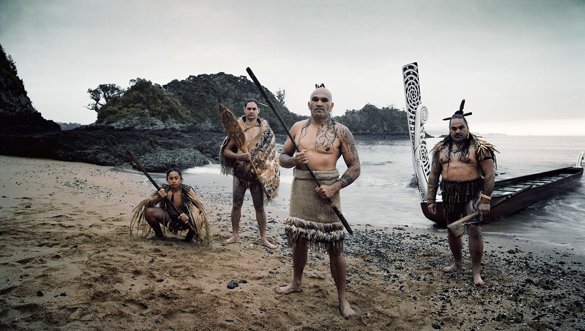 Maori tribe, New Zealand  © Jimmy Nelson