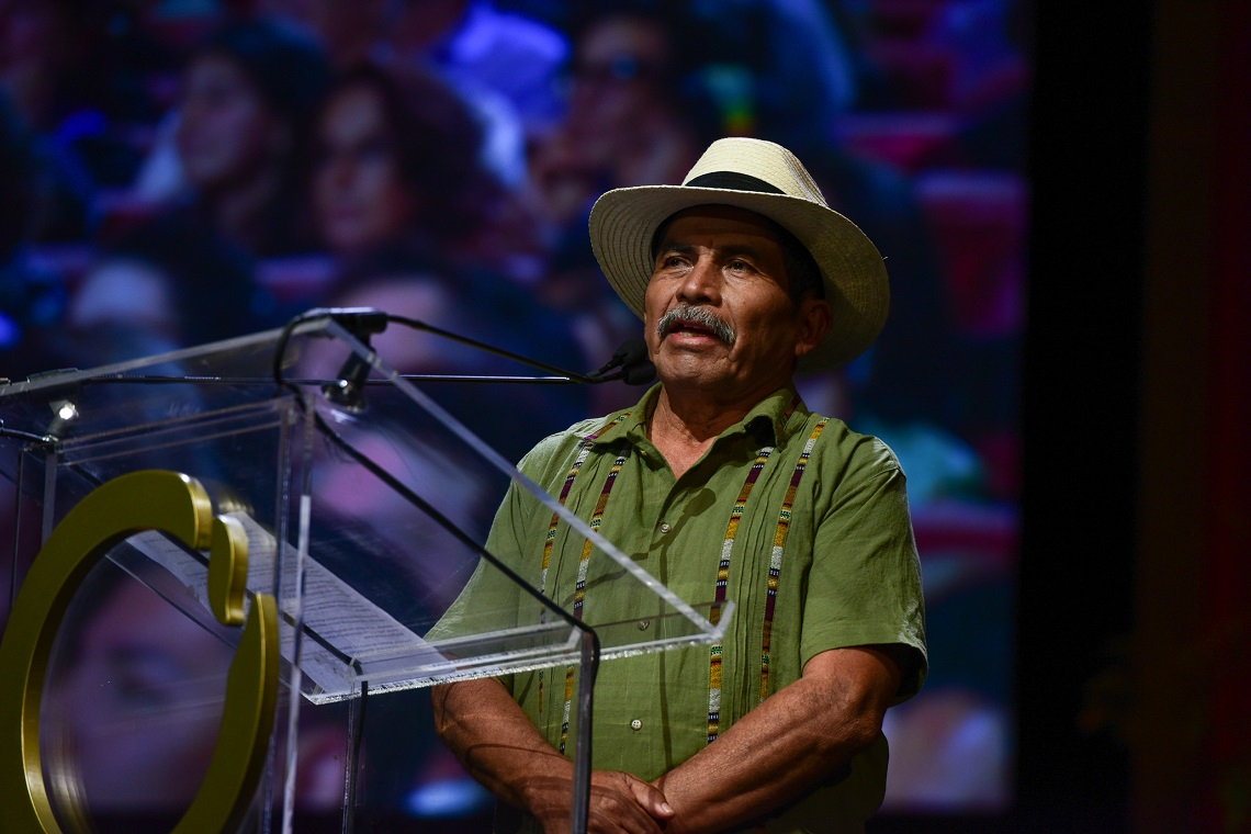 Rodrigo Tot, Goldman environmental prize