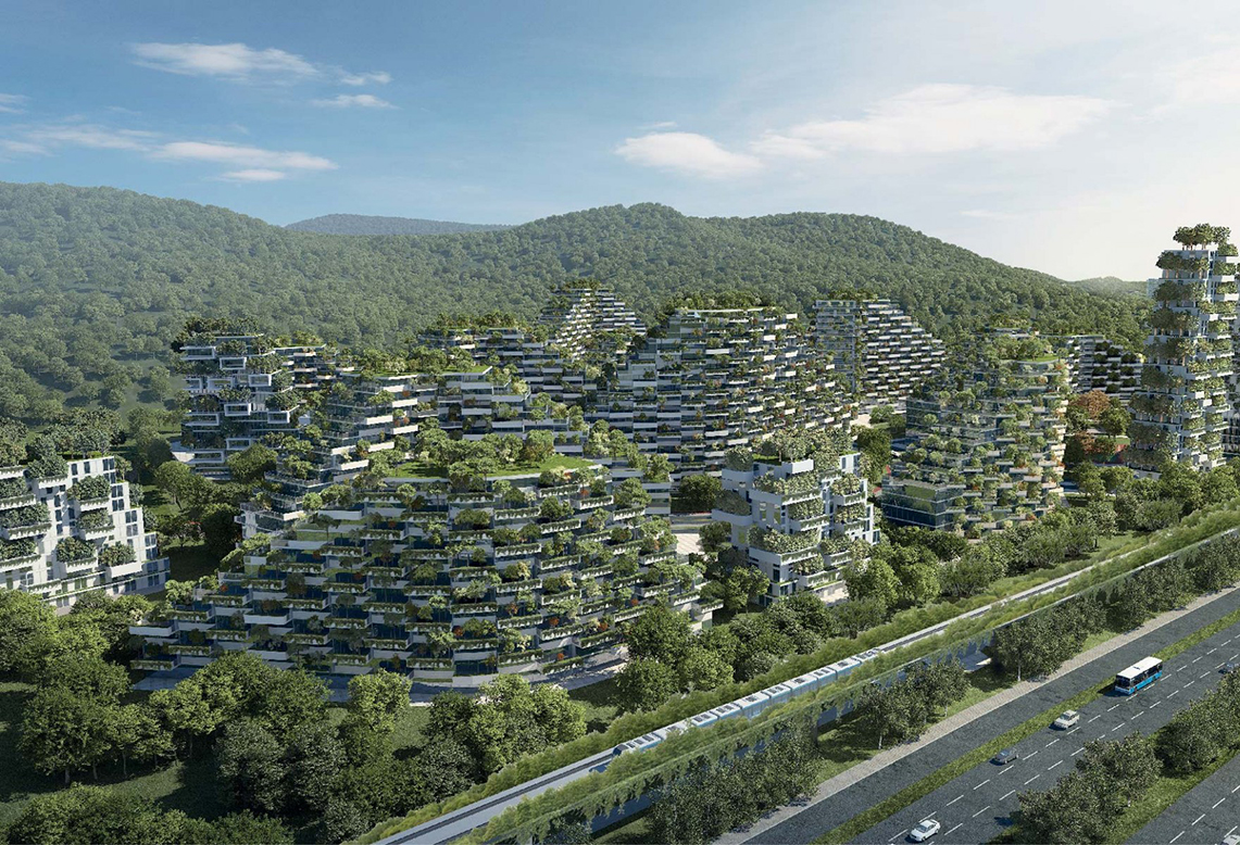 Liuzhou Forest City, millions of plants for a new model of