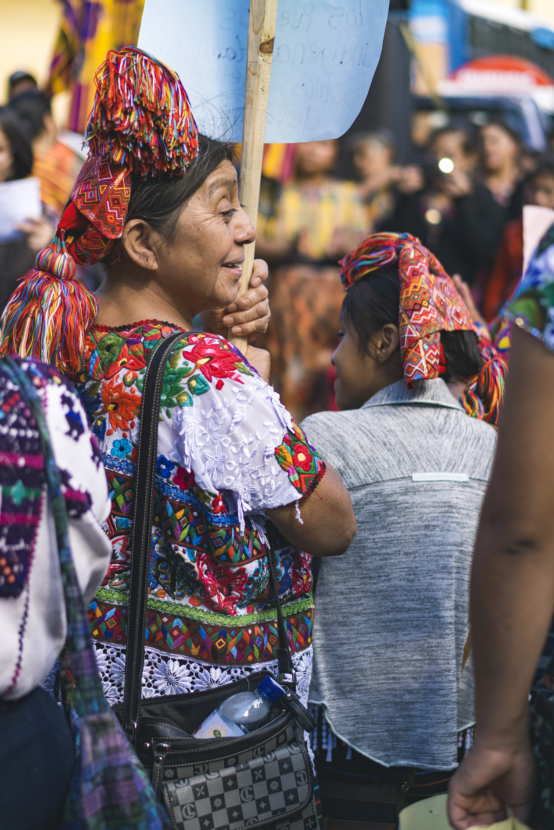 Guatemalan Maya women's fight to defend indigenous textiles from the