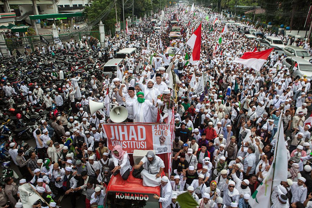 indonesia muslis ahok protest
