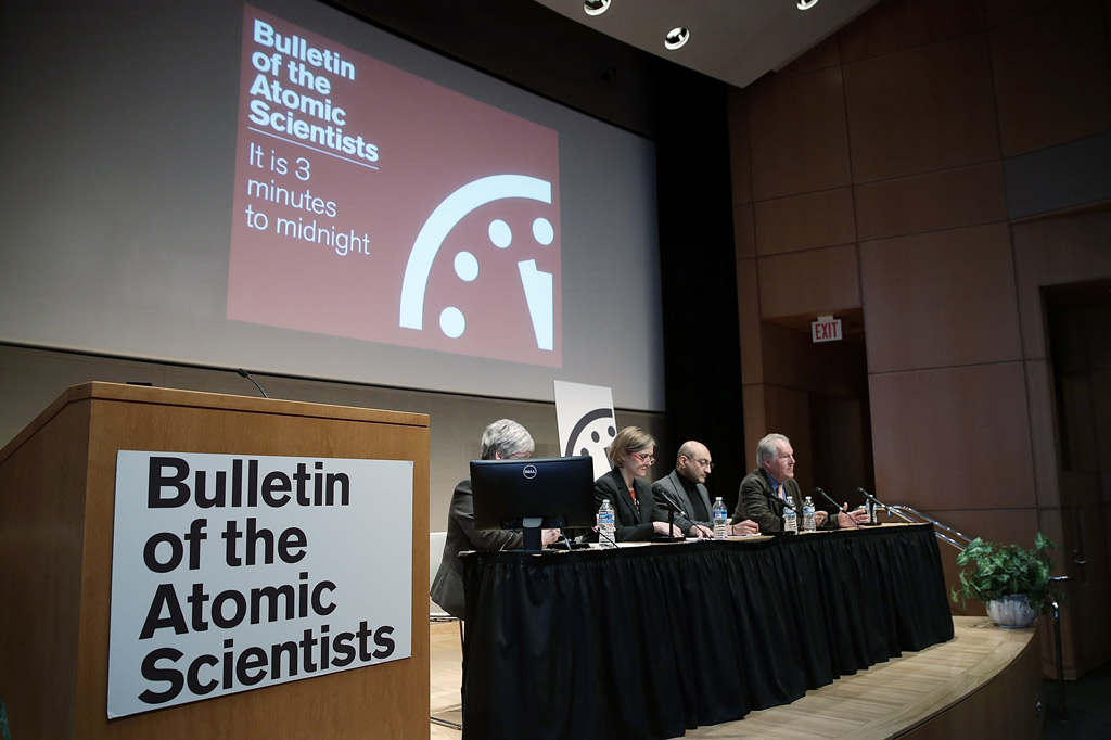 Doomsday clock nel 2015