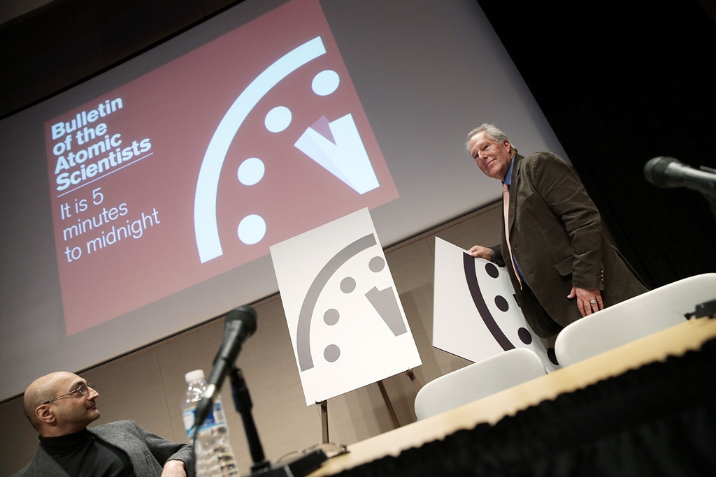 Doomsday clock nel 2012