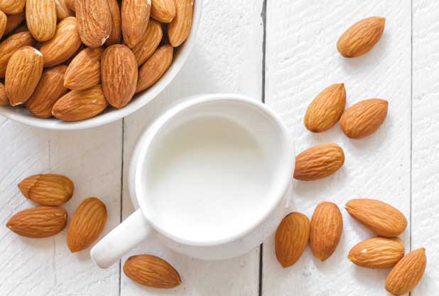 almond milk drink