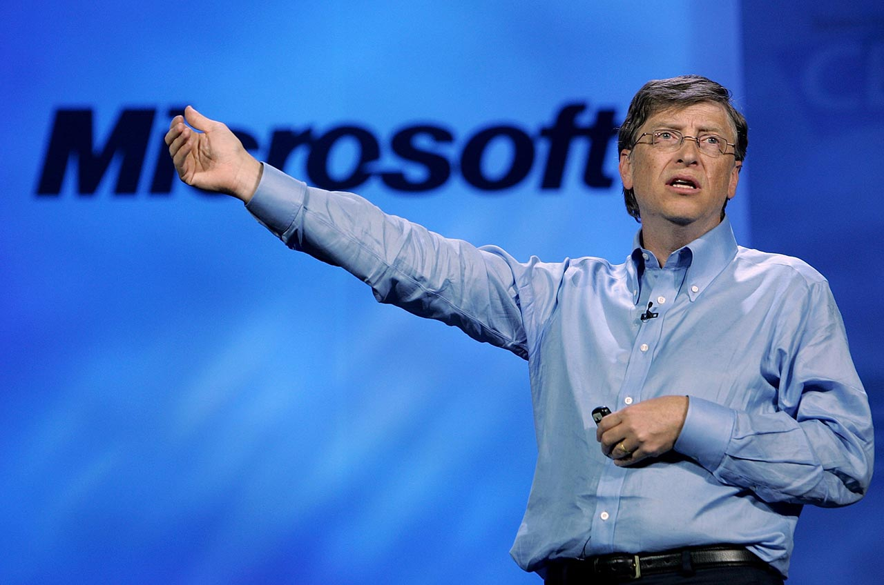 bill gates who invests in renewables is going to make a lot of