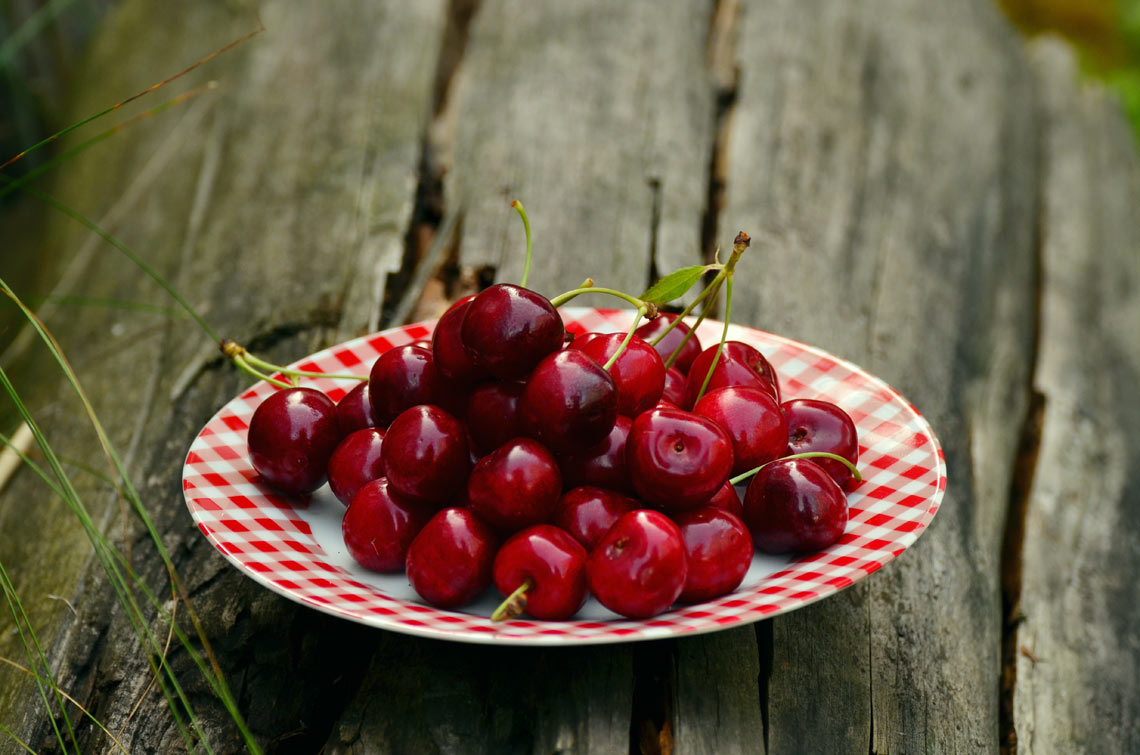 cherries may