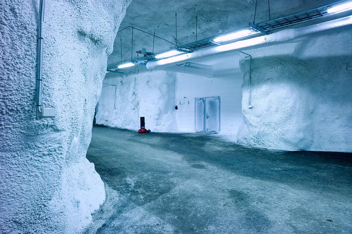 Inside The Svalbard Global Seed Vault The Deposit That Protects