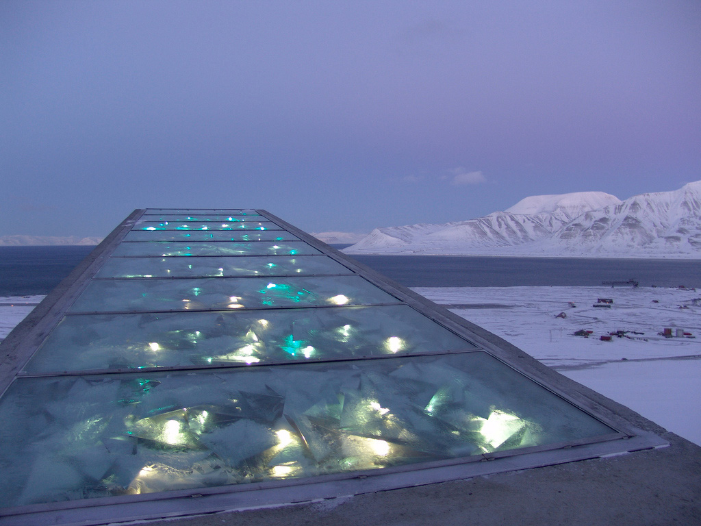 49131078 Inside the Svalbard Global Seed Vault, the seed deposit that holds the  future of the world's food supply