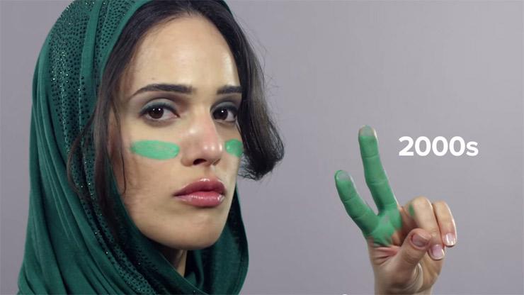 100 Years Of Iran Thorugh Women 8217 S Hairstyles