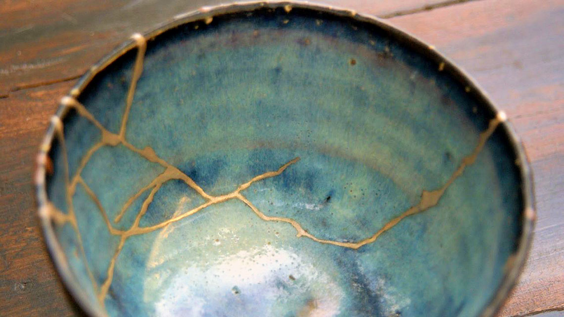Kintsugi: the art of precious scars