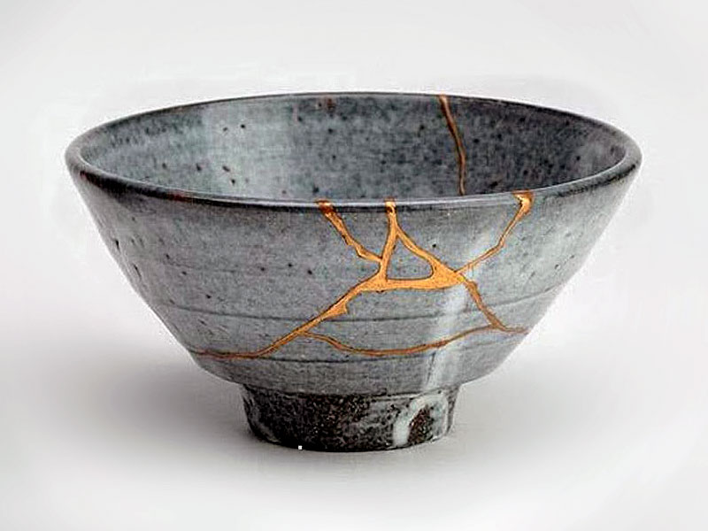 Image result for japanese broken pottery