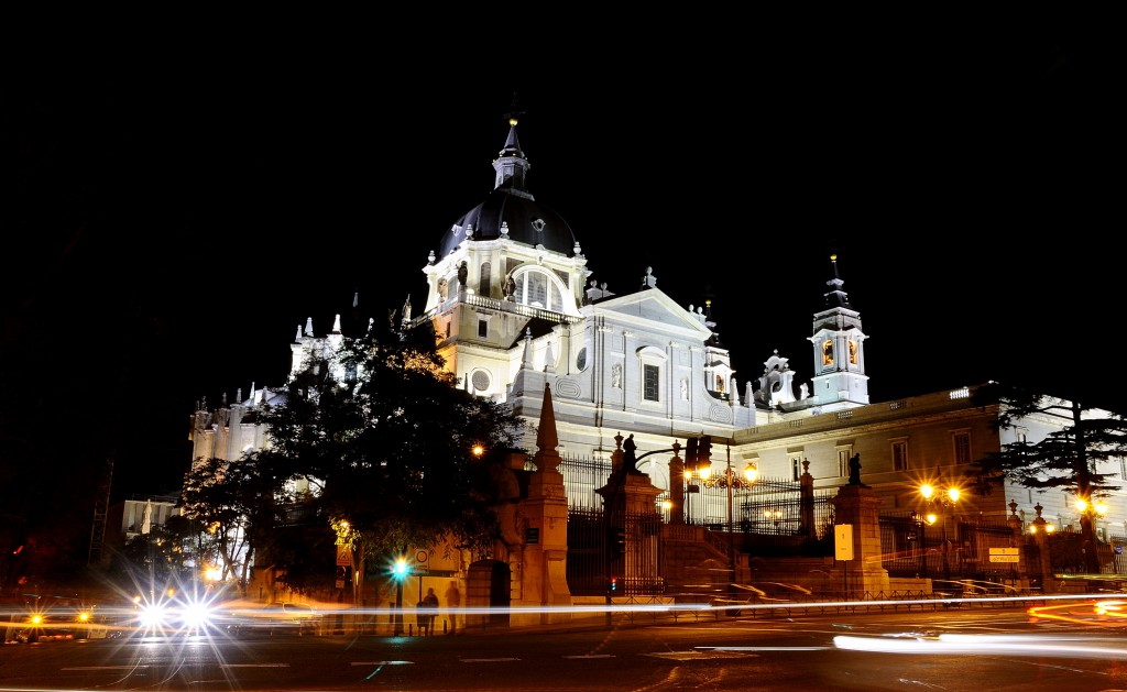 Almudena Cathedral in Madrid.