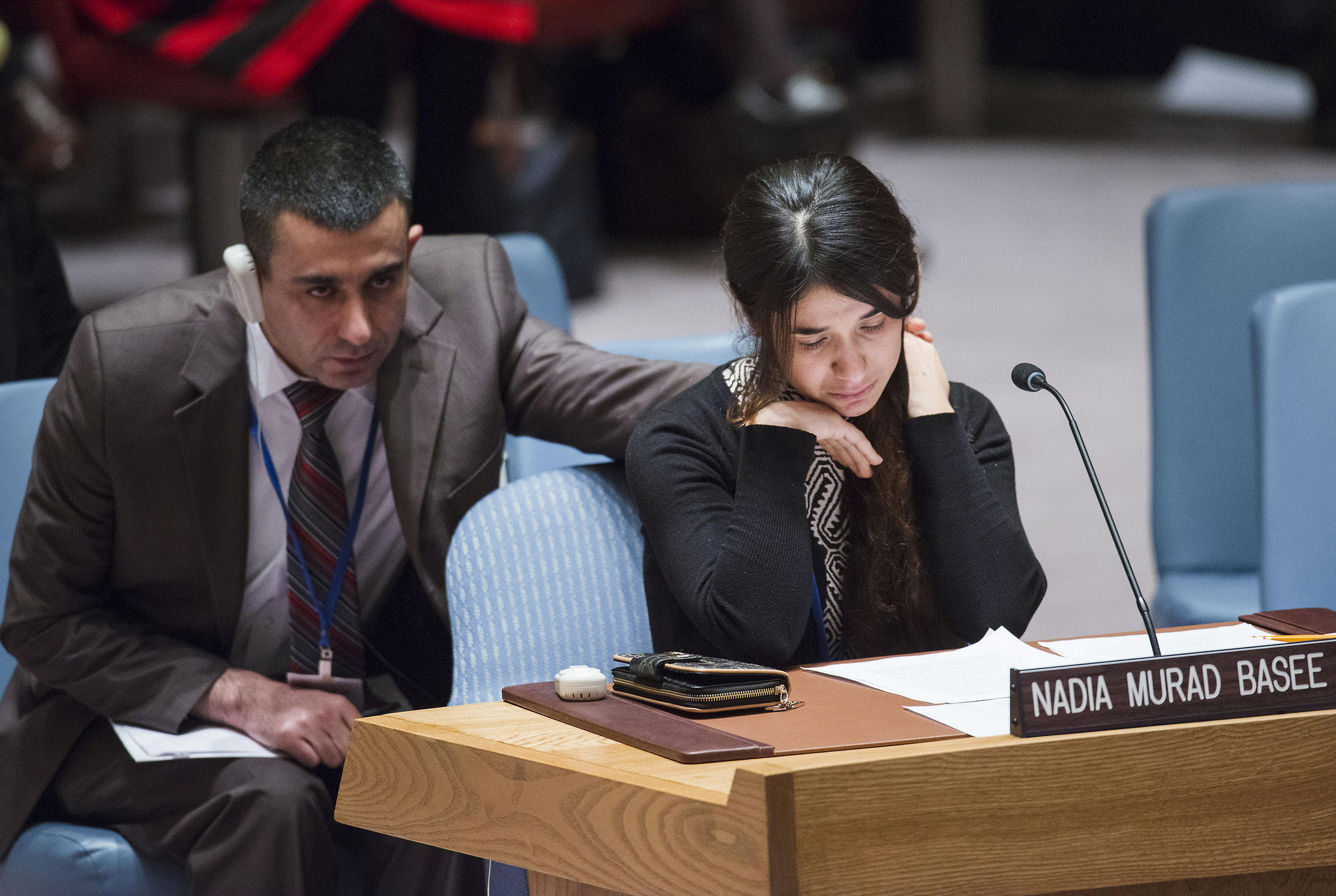 Nadia Murad nobel peace prize UN Security Council