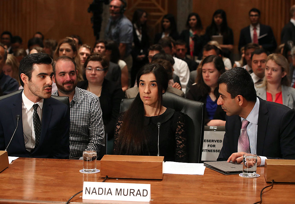 nadia murad nobel peace prize us senate