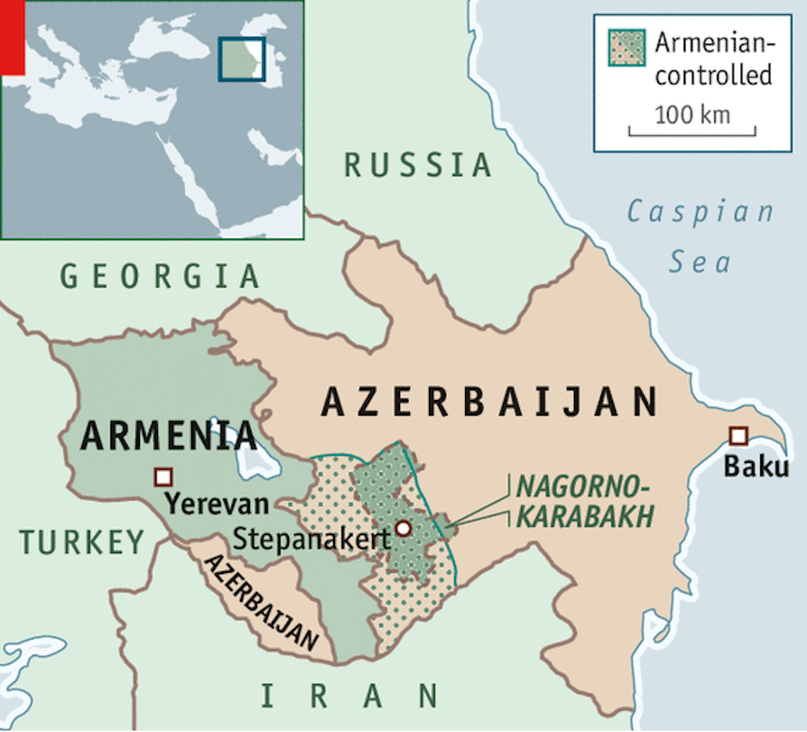 Fighting In The Caucasus Tensions Between Nagorno Karabakh And Azerbaijan Resume