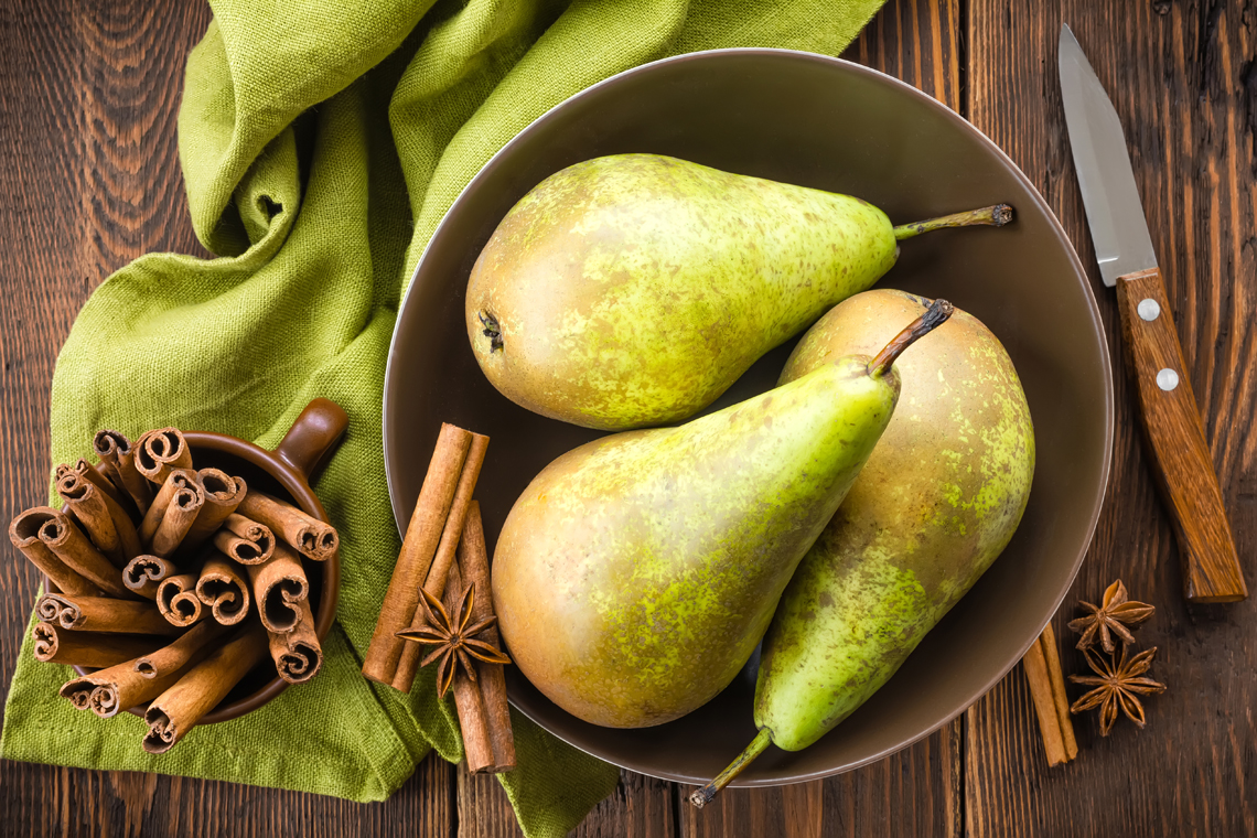 pears digestion feel full