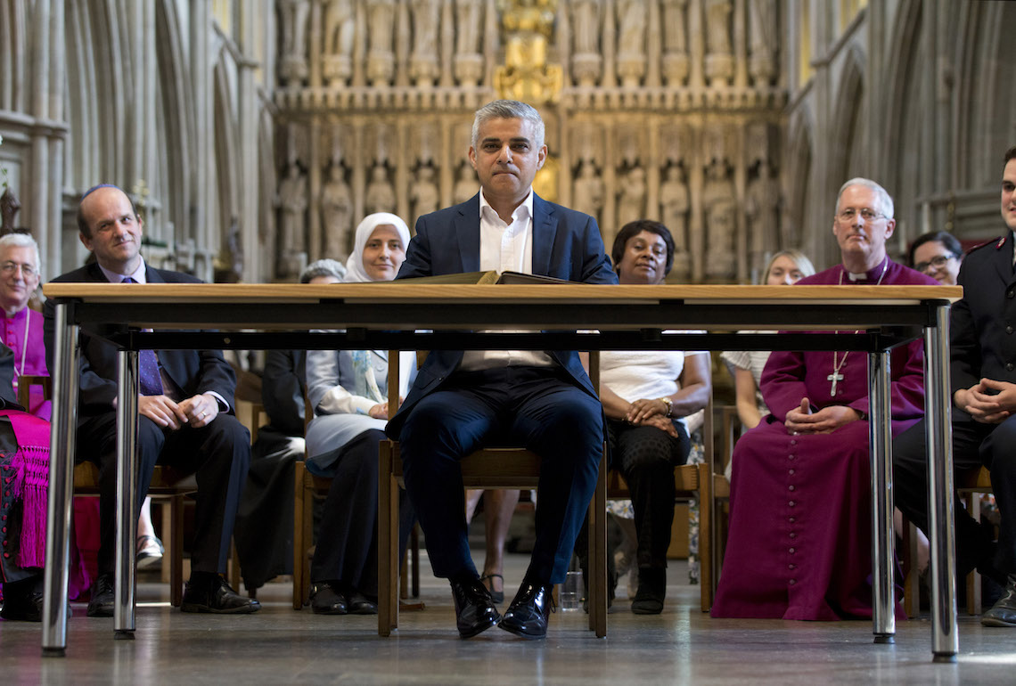 Who is Sadiq Khan, the son of a Pakistani bus driver and London's