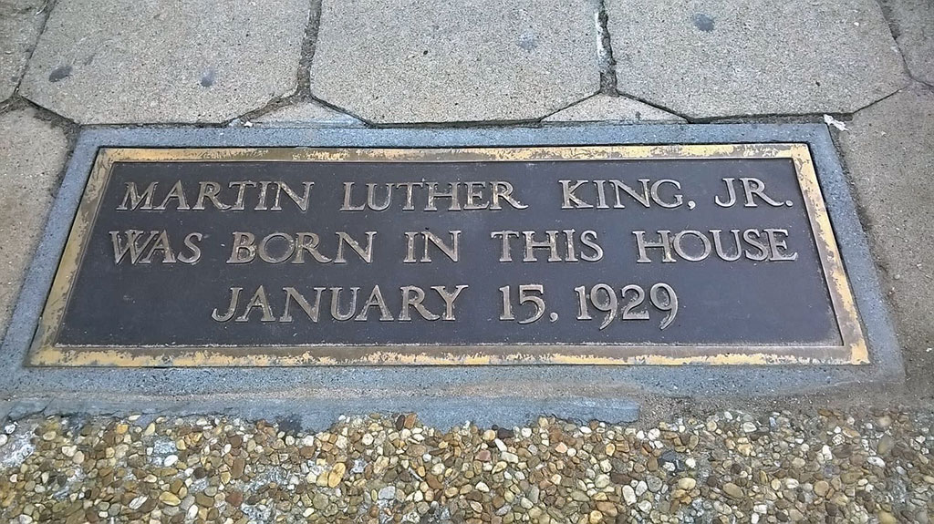 The Places Where Martin Luther King Jr Grew Up Are Now A National