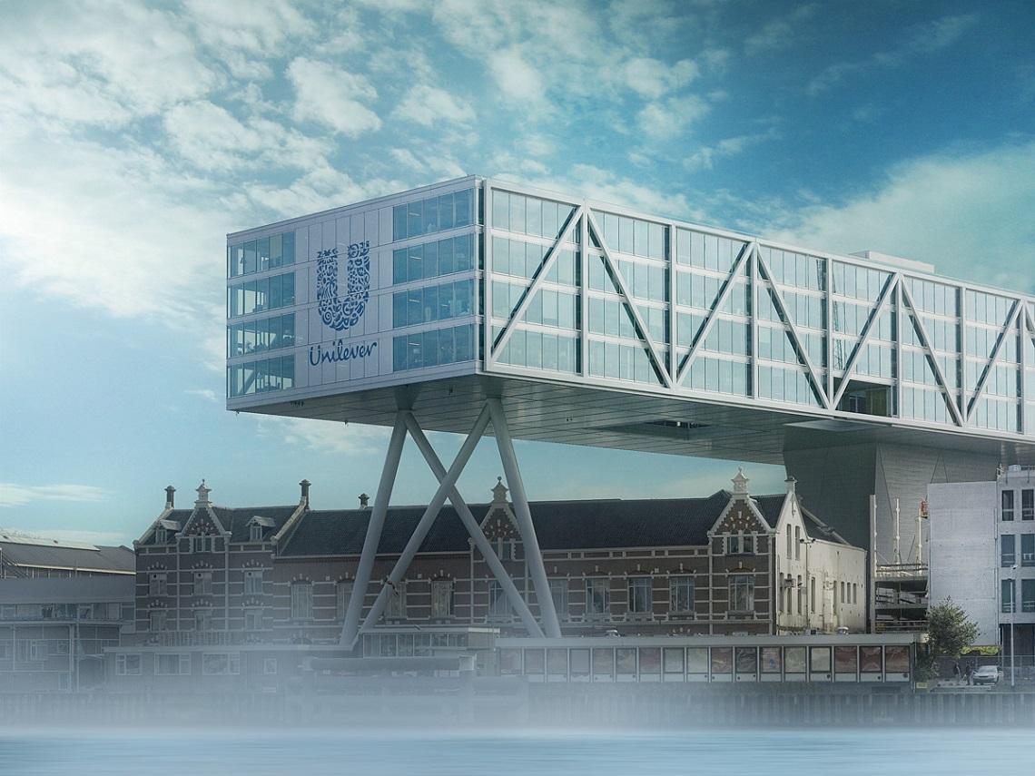 unilever main office. Sede Unilever Main Office