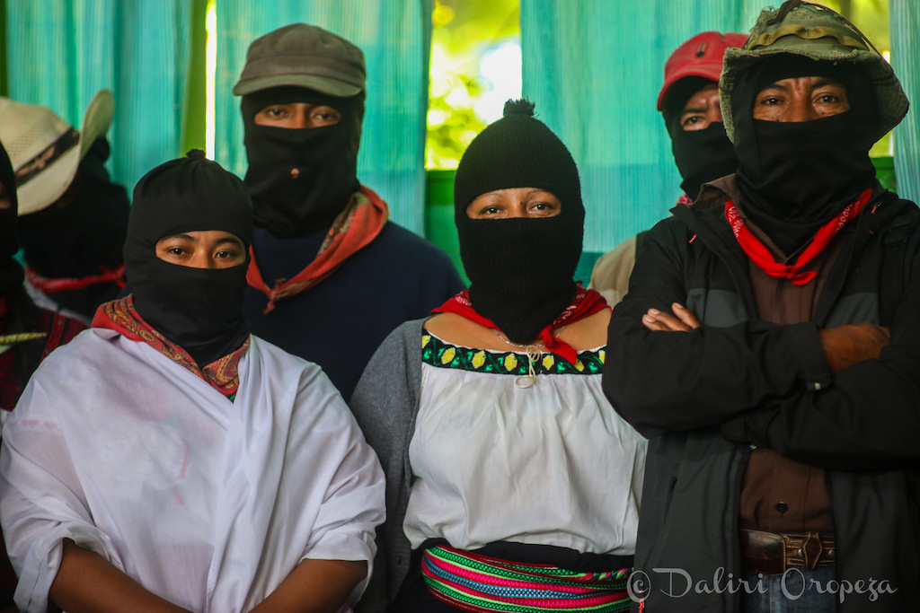 ezln zapatistas men and women marichuy
